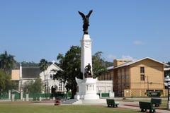 Monument Erinnerungs-Park– zum tapferen, Port-of-Spain, Trinidad und Tobago lizenzfreies stockbild