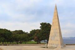 Monument Estacio de Sa in Park Flamengo, Rio de Janeiro, Brazil Royalty Free Stock Photography