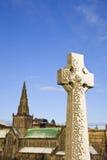 Monument et cathédrale de Glasgow Photos stock