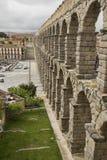 monument för århundradet för 1st annonsaquaduct bevarade bäst byggda iberian vänstra half mest en halvö roman romans second segov Royaltyfri Fotografi