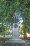 Monument för frihetspatriotismmänsklighet arkivbild