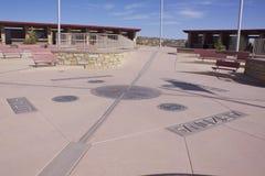 Monument för fyra hörn arkivbild