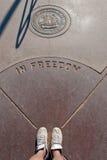 monument för hörn fyra Arkivfoto