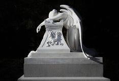 Monument för Henry Lathrop, broder till Jane Lathrop Stanford Arkivbilder