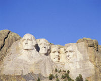 Monument för monteringsRushmore National Arkivfoto