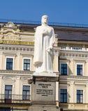 Monument för prinsessa Olga Diagram av prinsessan Olga Arkivfoton