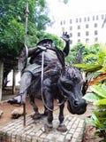 MONUMENT FÖR SANCHO PANZA, HAVANNACIGARR, KUBA Royaltyfri Bild