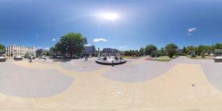 monument för video 360 till vänner stock video