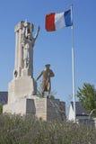 Monument für die Barbot-Abteilung Stockfotos