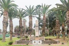 Monument für die ersten und zweiten Weltkriege in Swakopmund Lizenzfreie Stockbilder