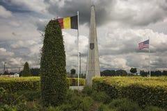 Monument für die 1. Infanteriedivision in Bullingen Lizenzfreie Stockfotos