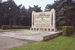 Monument für die soliers der marokkanischen Abteilung Lizenzfreies Stockbild
