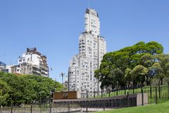 Monument für gefallen in die Falkland, Buenos Aires, Argentinien stockfotografie