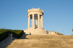 Monument of the fallen in Ancona Stock Image