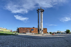 Monument of the Fallen Shipyard Workers Royalty Free Stock Photo