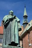 Monument of famous scientist and professor Jozef Dietl,Krakow royalty free stock images