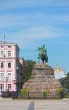 Monument of famous Ukrainian Hetman Bogdan Royalty Free Stock Image