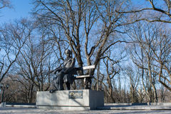 Monument of the famouse ukrainian writer Taras Shevchenko in Ukraine Stock Images
