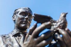 Monument of Federico Garcia Lorca in Madrid, Spain Stock Photo