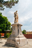 Monument of Feldmarschall Schulenburg built in 1718, near the Old Fortress, Kerkyra, Corfu island, Greece Stock Photo