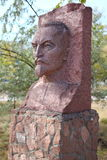 Monument of Feliks Dzerzhinsky. PAVLODAR- KAZAKHSTAN, september 26, 2010: Monument of Feliks Dzerzhinsky - founder of Cheka in USSR in 1917 Royalty Free Stock Photo