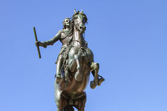 Monument of Felipe IV in Madrid Royalty Free Stock Photography