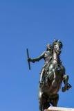 Monument of Felipe IV in Madrid Stock Images