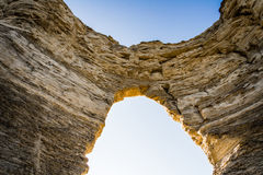 Monument-Felsen-Kreide-Pyramiden Lizenzfreie Stockfotografie