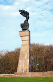 Monument of the Fighters for Soviet Power, Mogilev Royalty Free Stock Image