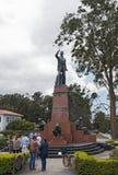 Monument of the former Costarican president Leon Cortes Castro Stock Photo