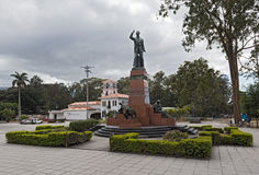 Monument of the former Costarican president Leon Cortes Castro. In San Jose, Costa Rica Royalty Free Stock Photos
