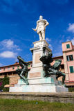 The Monument of the Four Moors in Leghorn, Italy Royalty Free Stock Photography