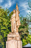 Monument för frihet av Italien, i staden av Cosenza Arkivfoto