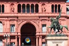 Monument för general Belgrano Royaltyfria Bilder