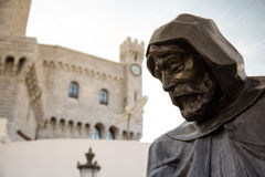 Monument of Francois Grimaldi Stock Images