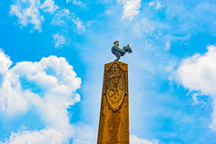Monument at the French Square in Panama City Royalty Free Stock Image