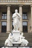 Monument Friedrich Schiller Berlin - Gendarmenmarkt. Monument Friedrich Schiller at Gendarmenmarkt in Berlin, Germany Royalty Free Stock Photo