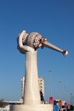 Monument in Fujairah City Stock Photography