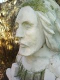 Monument funéraire, foi dans Dieu image stock