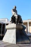 Monument Fyodor Dostoevsky Lizenzfreies Stockbild