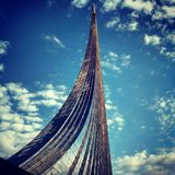 Monument of Gagarin. The monument of Gagarin Royalty Free Stock Image