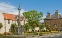 Monument and gardens in north berwick Stock Photography