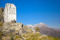 Monument in geheugen van hen die op zoek naar vrijheid stierven Royalty-vrije Stock Foto's