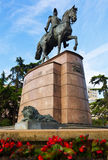 Monument of General Espartero in Logrono Stock Image