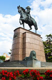 Monument of General Espartero in Logrono Royalty Free Stock Photos