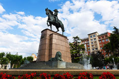 Monument of General Espartero Royalty Free Stock Image