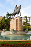 Monument of General Espartero in Logrono Royalty Free Stock Photography