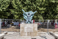 Monument for the genocide of the armenians Stock Images