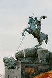 Monument George on Poklonnaya Hill in Victory Park Royalty Free Stock Image