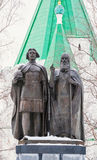 Monument of Georgy Vsevolodovich and St Simon Suzdal Royalty Free Stock Images